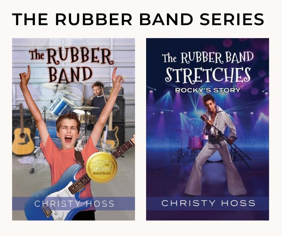 The Rubber Band series by Christy Hoss